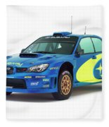 Wrc Racing Fleece Blanket