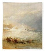 Wreckers - Coast Of Northumberland Fleece Blanket
