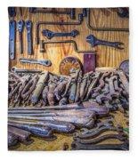 Wrenches Galore Fleece Blanket