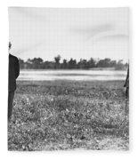 Wright Brothers, 1909 Fleece Blanket