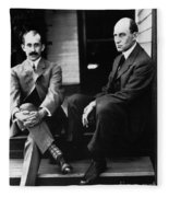 Wright Brothers Fleece Blanket