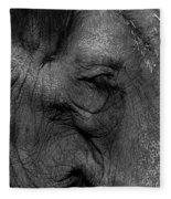Wrinkles Fleece Blanket