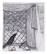 Writer's Veiw Fleece Blanket