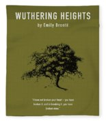 Wuthering Heights Greatest Books Ever Series 017 Fleece Blanket