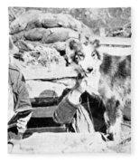 Wwi, Nell British Messenger Dog Fleece Blanket