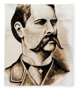 Wyatt Earp Fleece Blanket