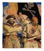 Wyeth: Treasure Island Fleece Blanket