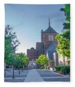 Wynn Commons - University Of Pennsylvania Fleece Blanket