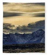 Wyoming II Fleece Blanket