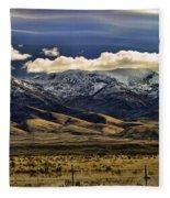 Wyoming Iv Fleece Blanket