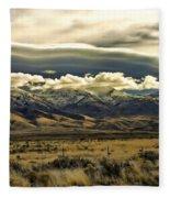 Wyoming Ix Fleece Blanket