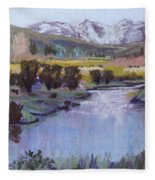 Wyoming River Fleece Blanket