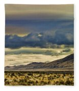 Wyoming V Fleece Blanket