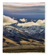 Wyoming Vi Fleece Blanket