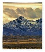 Wyoming Vii Fleece Blanket