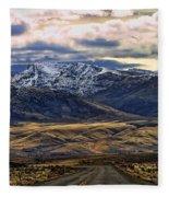 Wyoming Viii Fleece Blanket