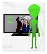 X Files Fleece Blanket