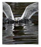 X Wing Fleece Blanket