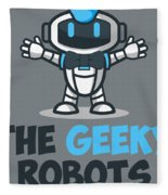 Xero The Robot Fleece Blanket