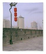 Ancient Xian Fleece Blanket