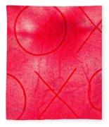 Xoxo 1 Fleece Blanket