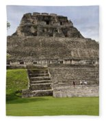 Xunantunich   Fleece Blanket