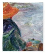 Yachats Painter Fleece Blanket
