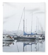 Yachting Club Fleece Blanket