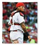 Yadier Molina, St. Louis Cardinals Fleece Blanket