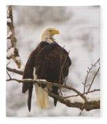 Yakama Canyon Eagle Fleece Blanket