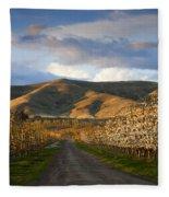 Yakima Valley Spring Fleece Blanket