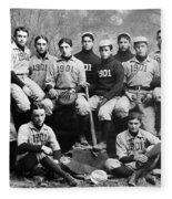 Yale Baseball Team, 1901 Fleece Blanket