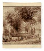 Yale University 1836 Fleece Blanket