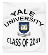 Yale University Class Of 2041 Fleece Blanket