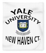 Yale University New Haven Ct.  Fleece Blanket