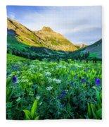 Yankee Boy Basin Flowers Fleece Blanket