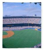 Yankee Stadium Ny Yankees V. Tampa Fleece Blanket