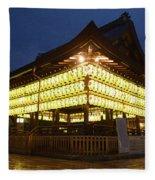 Yasaka Shrine Fleece Blanket
