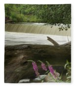 Yates Dam Fleece Blanket