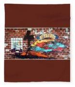 Ybor City Fleece Blanket