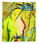 Yello Fleece Blanket