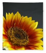 Yellow And Orange Gerber Fleece Blanket