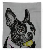 Yellow Ball  Fleece Blanket