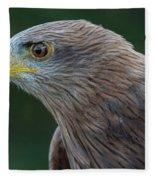 Yellow-beaked Kite Fleece Blanket