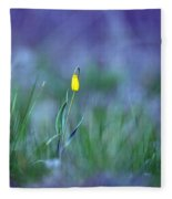 Yellow Bells Fleece Blanket