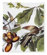 Yellow-billed Cuckoo Fleece Blanket