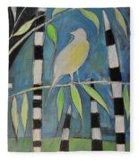 Yellow Bird Up High... Fleece Blanket