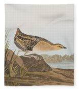 Yellow-breasted Rail Fleece Blanket