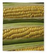 Yellow Corn Fleece Blanket