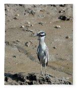 Yellow-crowned Night-heron Fleece Blanket